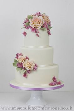 Wedding Cakes - Cakes by Natalie - Hertfordshire, London and Essex