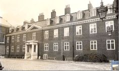 Kensington Palace History | An early view of apartment No. 1A – Princess Margaret's and now William and Kate's apartment.  Twenty rooms.  Four stories.