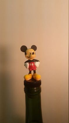 Mickey Mouse Wine Stopper, Disney Wine Stopper, Disney Character  #WineStopper…