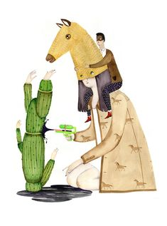 Whimsical Illustrations by Andrea Wan | iGNANT.de