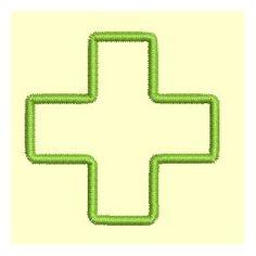 Croix de pharmacie - 2 tailles