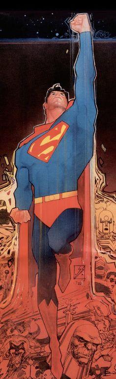 The History of the DC Universe Hard Cover detail of Superman. Superman Art, Superman Man Of Steel, Superman Wonder Woman, Batman, Superman Photos, Comic Book Characters, Comic Book Heroes, Comic Character, Character Design