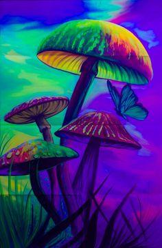 Hippie Wallpaper, Lit Wallpaper, Trippy Wallpaper, Pattern Wallpaper, Mushroom Paint, Mushroom Drawing, Eye Painting, Light Painting, Painting Eggs