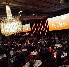 The Ivors today.. #roomfulloflegends