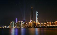 Shanghai Skyline by Dave B on 500px