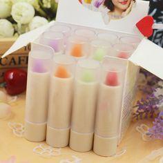 New Magic Waterproof Change Color Red Lipstick Long Lasting Moisturing Lip Balm