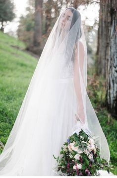 Romantic Bridal Inspiration | Wedding gown by Watters Wtoo- Jacinda |  Woodland Wedding | Balboa Park | San Diego Wedding |  Whiskers and Willow Photography | Isari Floral Studio | Beauty by Stacey