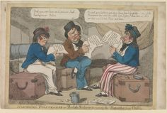 Nautical Politeness or British Sailors perusing the Dispatches from Cadiz
