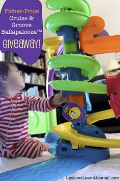 @LLJournalAust: We're giving away a Fisher-Price Cruise & Groove Ballapalooza™; a fun and engaging toy for children 6 months - 3 years. #Giveaway #FisherPrice