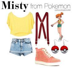 Misty from Pokemon :D