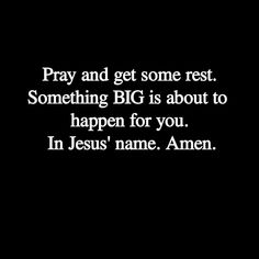 Sleep in peace tonight. God is bigger than anything you will face tomorrow. He is working for your good even while you're sleeping. Prayer Verses, God Prayer, Bible Verses, Spiritual Quotes, Positive Quotes, Motivational Quotes, Inspirational Quotes, Faith Quotes, Bible Quotes