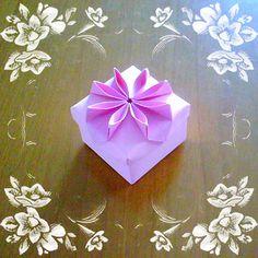 Origami flower box new version 2