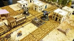 #dust1947 #thorminiatures #dustbrothers #terrain #tabletop