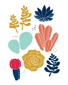 "Succulents 8""x10"" print cactus by letsdiefriends on Etsy https://www.etsy.com/listing/169242572/succulents-8x10-print-cactus"