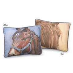 Canvas Horse Pillow Artist Adeline Halvorson's dramatic horse close-ups are beautifully reproduced on pillows made from sturdy cotton canvas with piping trim. Wild Horses Running, Horse Bedding, Lifestyle Shop, New Today, Cotton Canvas, Westerns, Lovers, Gifts, Accessories
