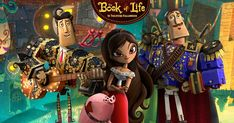 Book of Life is upcoming 3D animated film featuring the voices of Channing Tatum, Zoe Saldana, Diego Luna, and Christina Applegate. In theaters October 17th