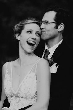 How adorable is this happy couple? Photo by: Bradford Martens