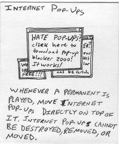 Internet Pop-Ups
