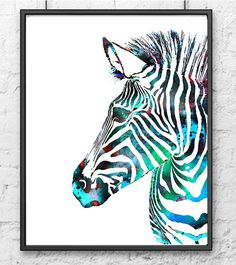 Watercolor Art Print Zebra Painting, Animal Art, Watercolor Animal Illustration, Wall Art These are high quality art prints of my original painting on watercolor paper and canvas ( for the largest sizes). paper size: US - 5 x 7 x - x x US - 8 x 10 Safari Wall Art, Animal Art, Watercolor Art Prints, Zebra Painting, Watercolor Elephant, Painting Prints, Art, Animal Illustration, Animal Paintings