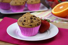 Chippee Chocolate Chip Muffins     1/6th of recipe (1 muffin): 175 calories, 5g fat, 299mg sodium, 29g carbs, 3g fiber, 11g sugars, 4.5g pro...