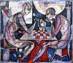 The Chess Player Painting | Recent Photos The Commons Getty Collection Galleries World Map App ...