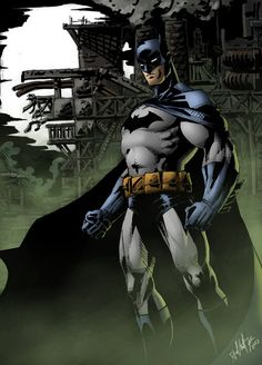 Batman, designed in 2013 by an artist whose signature I cannot decipher. :T