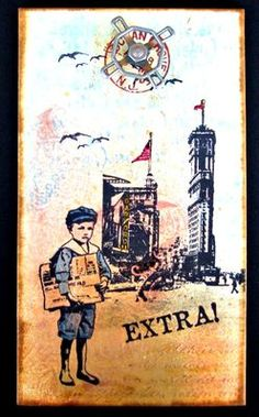 Stamps - Artistic Outpost Paperboy