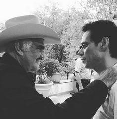 Marc Anthony presume su emotivo encuentro con su ídolo, Vicente Fernández, en Guadalajara
