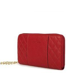 c78a80688d00 Красный женский клатч из натуральной кожи с ручкой на цепочке Каталог