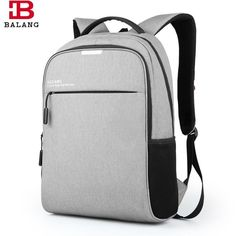 For Only $ 56.99 MEN BUSINESS LAPTOP NOTEBOOK PRACTICAL BACKPACK Item Type: Backpacks Interior: Interior Compartment, Interior Key Chain Holder, Computer Interlayer, Cell Phone Pocket, Interior Zipper Pocket, Interior Slot Pocket Style: Fashion Exterior: Silt Pocket Closure Type: Zipper Carrying System: Arcuate Shoulder Strap Rain Cover: No Lining Material: Cashmere Capacity: 20-35 Litre Pattern Type: Solid Backpacks Type: Softback Main Material: Nylon Brand Name: BALANG Handle/Strap Type…