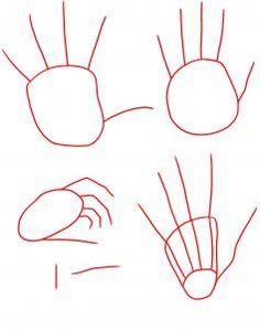 como dibujar manos anime paso a paso - Buscar con Google