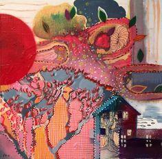 """Saatchi Art Artist Randi Antonsen; Painting, """"springtime II"""" #art"""