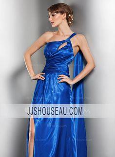A-Line/Princess Royal Blue Sleeveless Regular Straps Evening Dress Evening Dress
