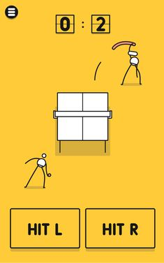 I'm Ping Pong King :) by Orangenose Studios is an amazing game not only for the fun but also for the impeccable game design and art direction Pong Game, Game Concept, Word Games, Game Ui, Best Games, Game Design, Vector Art, Puzzle Games, Game Ideas