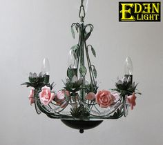 Products-What's New-EDEN LIGHT New Zealand Flower Chandelier, Chandeliers, New Zealand, Crown, Flowers, Products, Transitional Chandeliers, Floral Chandelier, Corona
