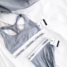 Calvin Klein, modern cotton, bralette and bikini - heather grey Lingerie, Ropa Interior Calvin, My Calvins, Calvin Klein Underwear, Style Vintage, The Bikini, Swagg, Dress To Impress, What To Wear