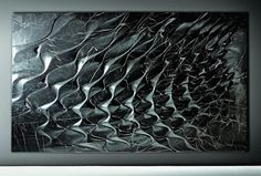 Another amazing collaboration launched at Maison & Objet that I just have to mention is the series of Marble Wall Features by Zaha Hadid for Citco. Sculpt Studio, Zaha Hadid Design, Concrete Forms, Parametric Design, Digital Fabrication, Zaha Hadid Architects, Generative Art, Modern Sculpture, Texture Design