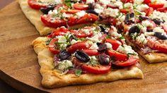 Mediterranean Three-Tomato Tart