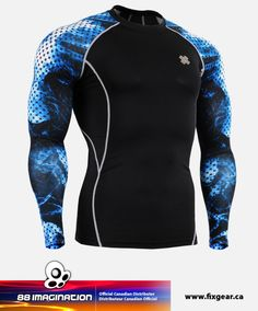 FIXGEAR CPD-B66 Compression Base Layer Shirt