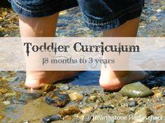 Hearthstone Homeschool: Montessori Minute: Toddler Curriculum