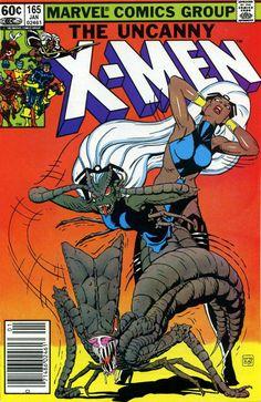 the Uncanny X-Men (vol.1) #165 by Paul Smith
