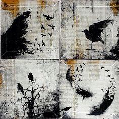 Dictionary Art - Bird