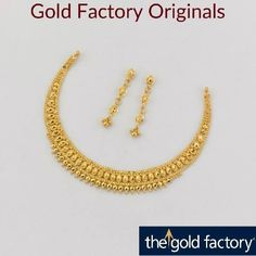 Black And Gold Jewelry Refferal: 8426024492 Gold Bangles Design, Gold Earrings Designs, Gold Jewellery Design, Necklace Designs, Gold Wedding Jewelry, Gold Jewelry Simple, Gold Necklace Simple, Gold Necklaces, Necklace Set