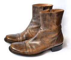 Authentic-BUTTERO-Mens-Leather-Brogues-Boots-Shoes-Ankle