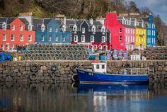 Tobermorey, Isle of Mull, Scotland