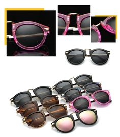 New fashion unisex metal frame polarized sunglasses