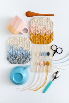 Leaf Stitch – The new needlepoint Measuring Spoons, Brazilian Embroidery