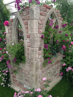 chelsea garden show 2013 in england | RHS Chelsea Flower Show 2013 - Redwood Stone with Peter Beales Roses