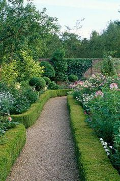 Beautiful well manicured garden