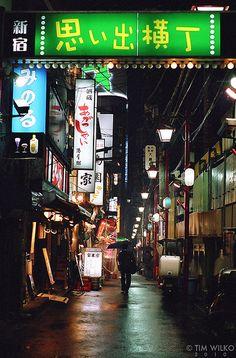 Omoide yokocho ; Boozery Street in shinjyuku, Tokyo   via flickr